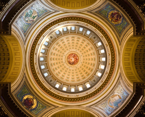 Inside Dome