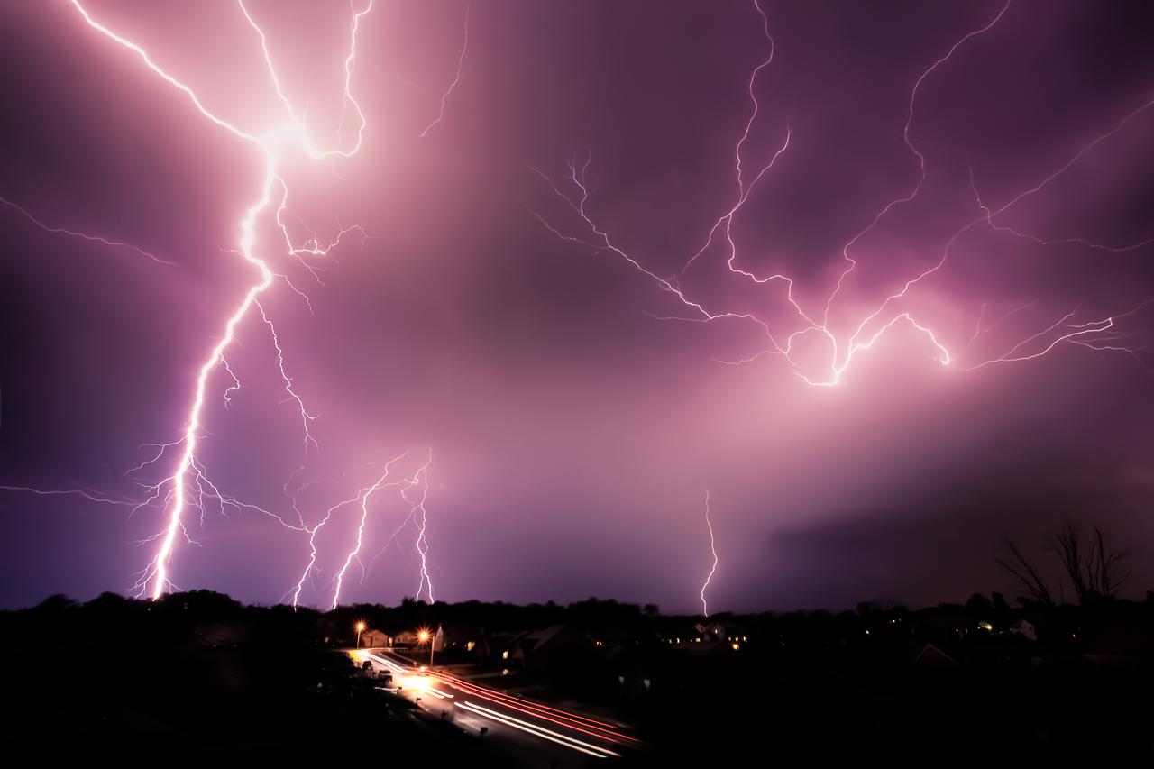Lightning Over Brooklyn